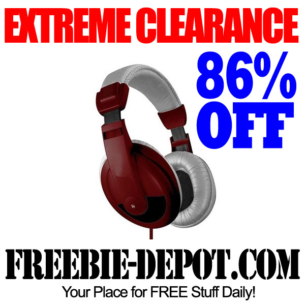 Extreme Clearance Headphones