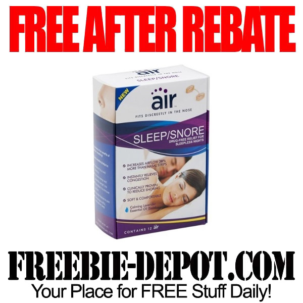 Free After Rebate Air Breathing Aid Insert