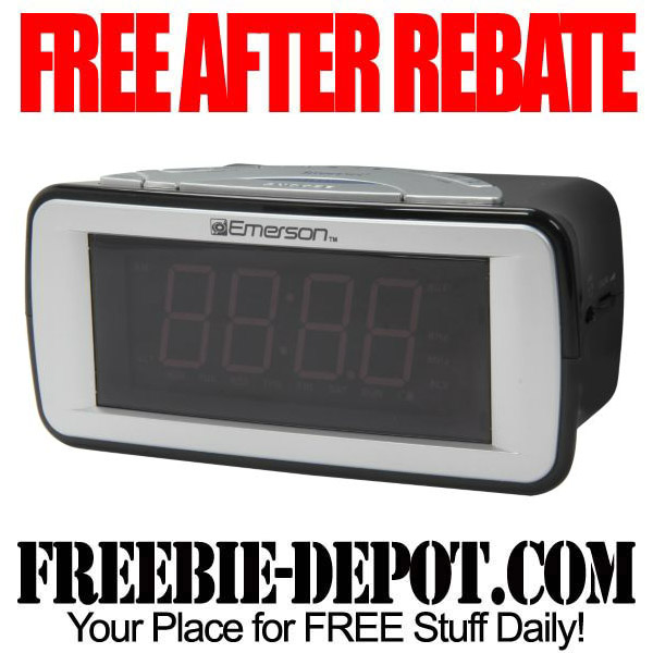 Free After Rebate Clock