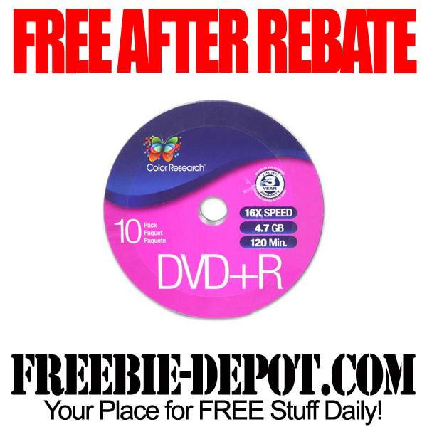 Free After Rebate DVD-R