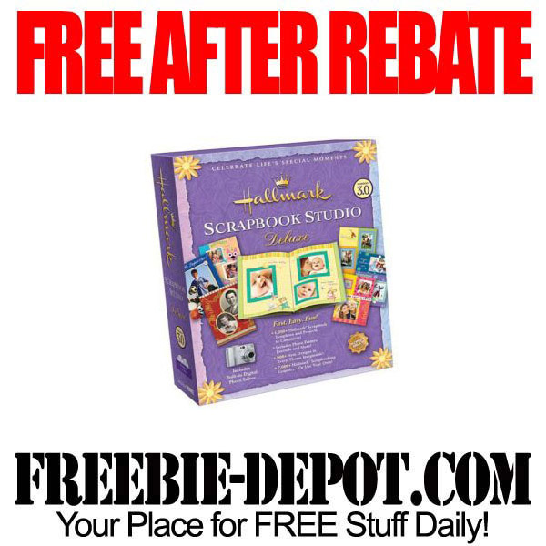 Free After Rebate Scrapbook Studio