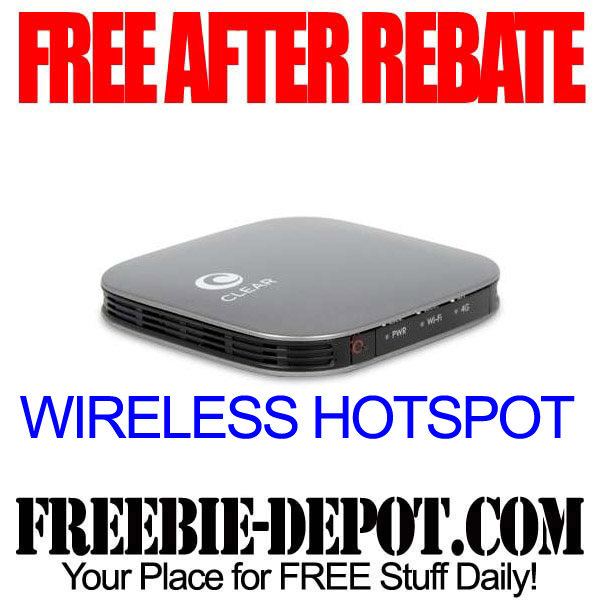 Free After Rebate Wireless Hotspot