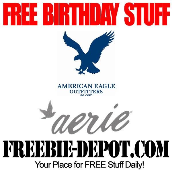 Free Birthday American Eagle