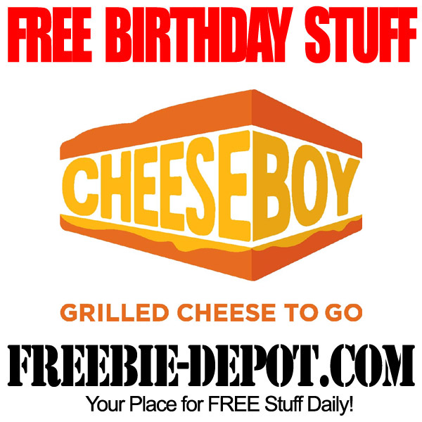 Free Birthday Grilled Cheese