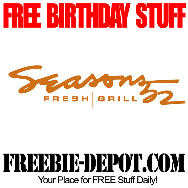 Free Birthday Seasons 52