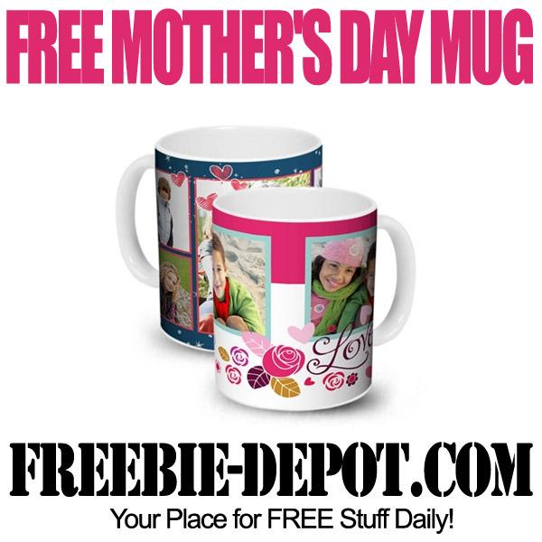 Free Mothers Day Mug