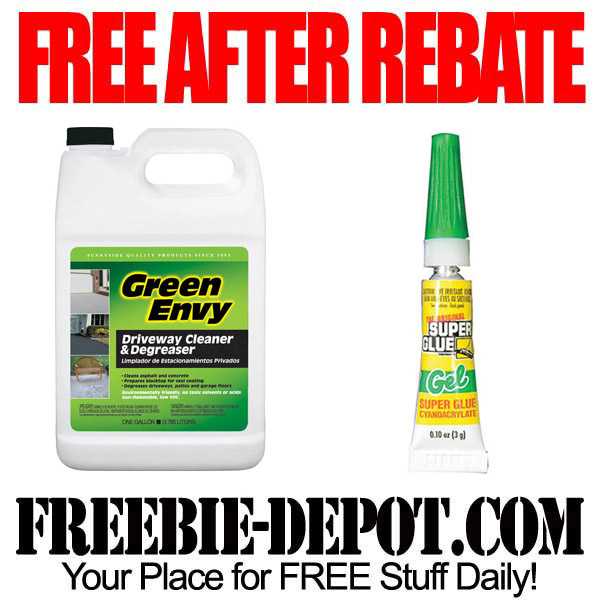 Free After Rebate Super Glue & Cleaner