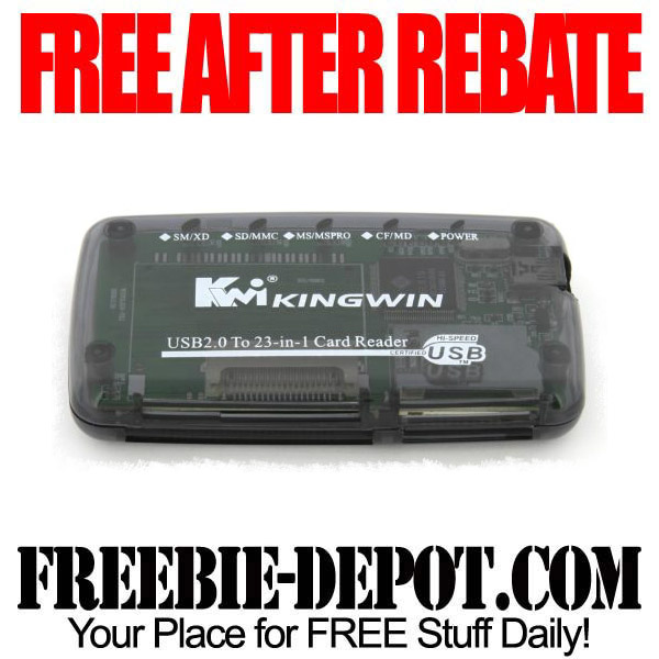 Free After Rebate USB Card Reader