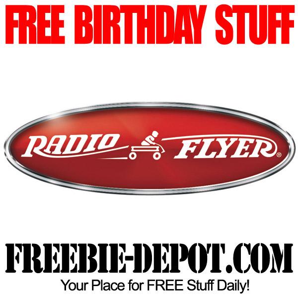 Free Birthday Radio Flyer