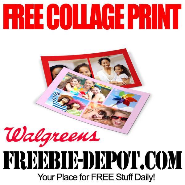 Free Collage Print