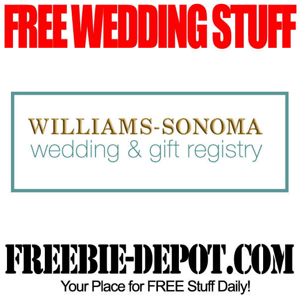 Free Wedding Stuff Williams Sonoma