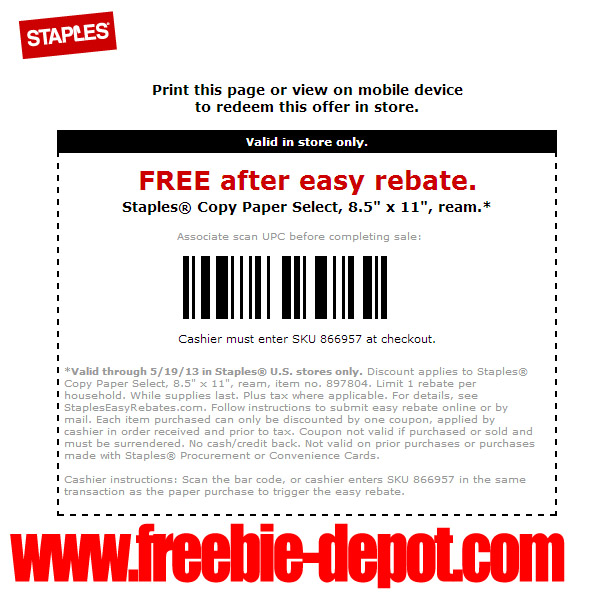 staples copy paper coupon code popeyes coupons lawrenceville ga