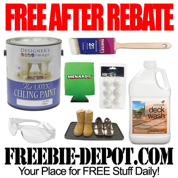 Free After Rebate Paint and Brushes