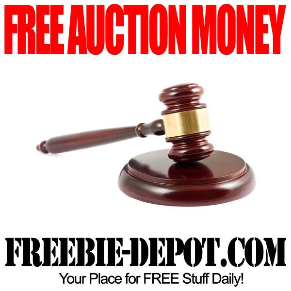 Free Auction Money
