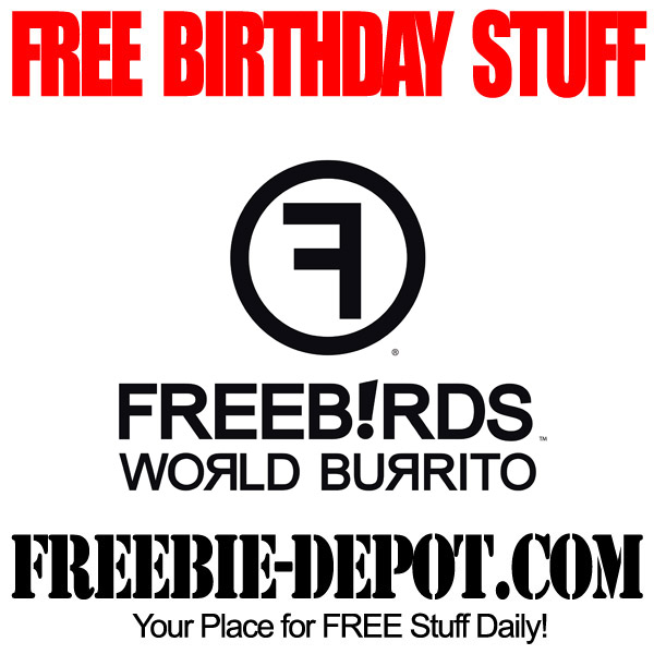 Free Birthday Burrito Freebirds