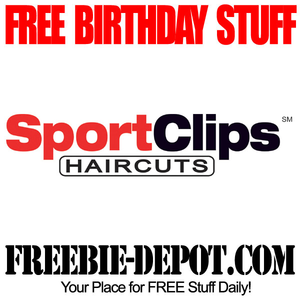 sport clips coupons free haircut birthday freebie sport freebie depot 2548 | Free Birthday Haircut