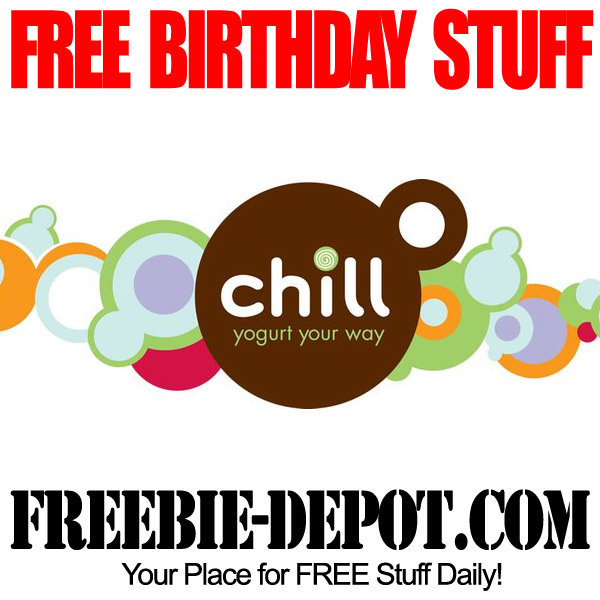 Free Birthday Yogurt at Chill