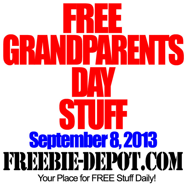 Free Grandparents Day Stuff